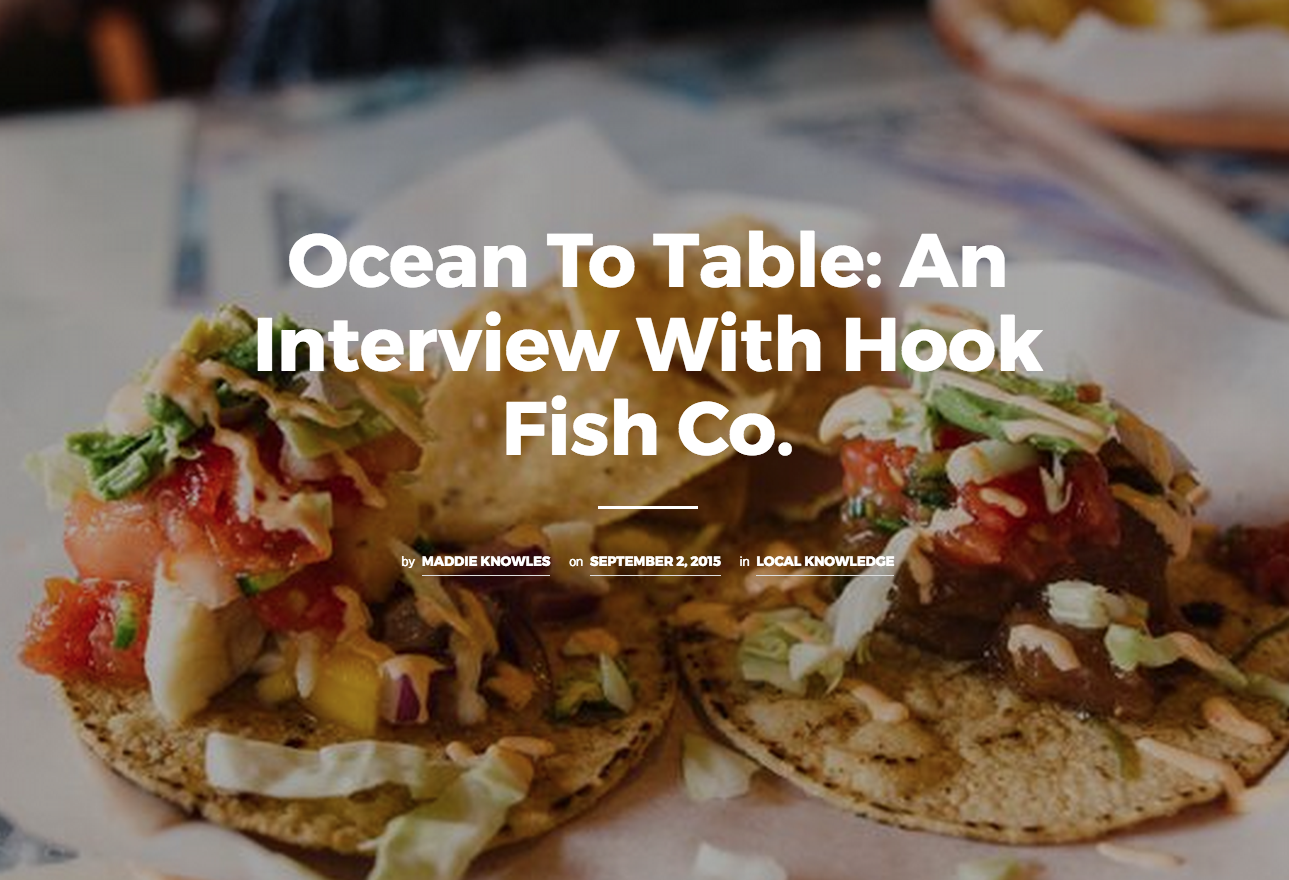 Hook fish co for Pacifico fish company